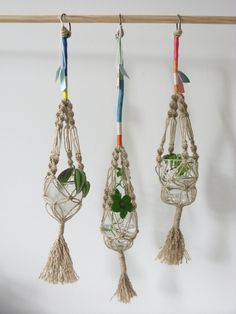 Stämpel macrame plant hanger