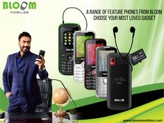 A range of feature phones from Bloom: Choose your most loved gadget