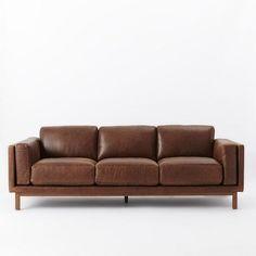 Dekalb Leather Sofa - Grand