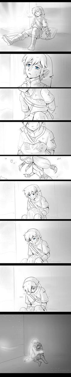 Skyward Sword - The Reason to Fight 2 by *Feri-san (Loved Skyward):