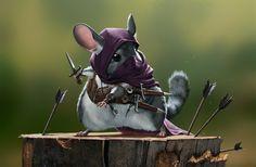 Medieval Rodent Warriors - Original Character Art - News - GeekTyrant