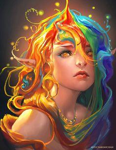 Digital art by Sakimichan - ego-alterego.com