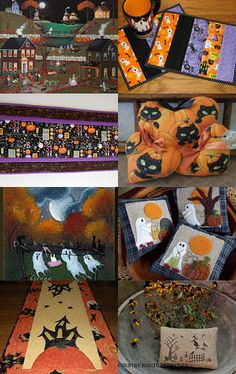 A Little Touch of Halloween by arcadecache on Etsy--Pinned with TreasuryPin.com