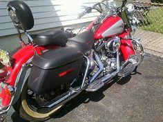 eBay: 2002 Harley-Davidson Softail Harley Davidson 2002 Heritage Softail, Excellent Condition, Red #harleydavidson