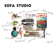 Have You Dreamt Of Having A Workspace To Make Your Art?Make an art studio at home. Sofa studio is easy to make. Art studio at home a sofa Art Studio At Home, Make Art, Art Techniques, Art Studios, Art For Kids, Kid Art, Art Drawings, Blog, Collage Ideas