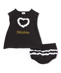 Look at this #zulilyfind! Missouri Tigers Dress & Bloomers - Infant #zulilyfinds