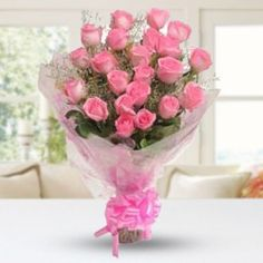Buy & send Hot Pink Flowers online from anywhere across Philippines with Florista. Bunch of fifteen Pink Roses for someone special.Each flower is a soul opening out to nature. Go ahead and place your order now!