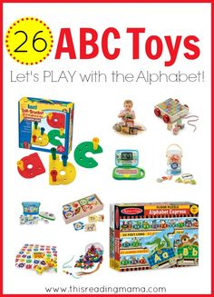 26 ABC Toys for Kids - Let's PLAY with the Alphabet   This Reading Mama
