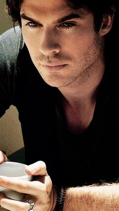 Ian. His eyes. Wow.