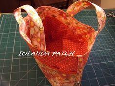 Iolanda Patch: Passo a Passo de um organizador de bolsa.