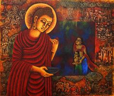 buddha painting abstract - Google Search