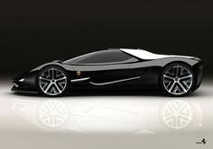 The Ferrari Xezri concept by Semir Sadikhov.