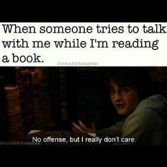 This is me... Harry Potter is cute