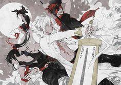 Allen Walker (アレン・ウォーカー), Yuu Kanda (神田ユウ), Lenalee Lee (リナリー・リー) & Lavi (ラビ) | D.Gray-man (ディー・グレイマン), D.Grey-man, DGM