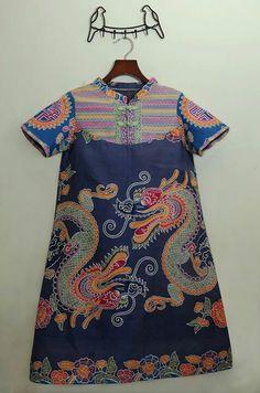 Batik featuring dragons