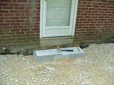 We Show The Way We Construct Steps Using Wall Stones With Photos & Descriptions - Newtown Square PA from Robert J. Patio Stairs, Backyard Patio, Backyard Landscaping, Front Porch Steps, Back Steps, Newtown Square, Flagstone, Natural Stones, Home Remodeling