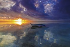 Photo Lonely Boat by Wayan Sujana on 500px