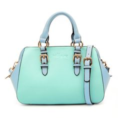 MInt Green Buckle Handbag Tote