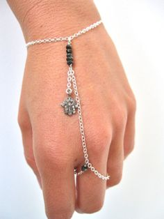 Diamond Hamsa Slave Bracelet Jewelry Bracelets Crafts Hand Beaded