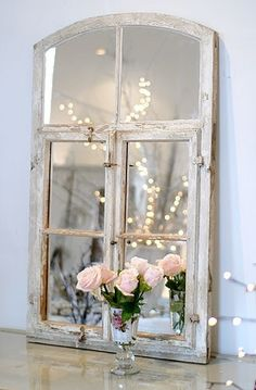 Shabby chic.... Love this, it's so pretty!
