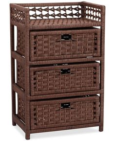 Easy organization, instant style — Household Essentials woven storage chest