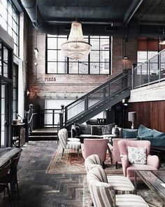 7033 Best Industrial Lofts images in 2019 | Arredamento, Attic ...