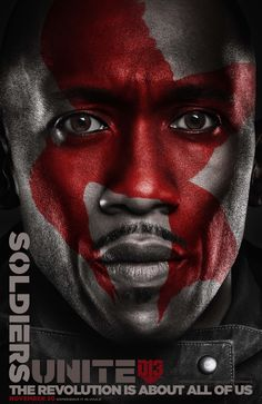 Protecting Panem with honor, strength and loyalty - Boggs. #Unite