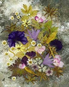 Amazing Pressed Flower Art by Shelley Xie - artbyshelleyxie.com