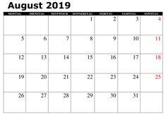 Kalender August Zeitplan 2019 Zum Ausdrucken Kalender August, Author, Lettering, Education, Words, November 2019, Blank Calendar, Thursday, Schedule