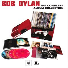 Bob Dylan: 'The Complete Album Collection' Click on the cover to read why we love it! Listen here: http://spoti.fi/1m9GIlZ