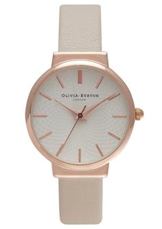 Olivia Burton THE HACKNEY WATCH - NUDE & ROSE GOLD in NUDE AND ROSE GOLD