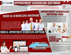 Medical scheduling software can give medical professionals the edge when it comes to booking patients. Browse this site http://www.scheduleview.com/appointment-scheduling/ for more information on medical scheduling software. Even for patients seeking an appointment, it is a boon and helps save them hassles of endless phone calls or personal visits without a chance of an appointment. follow us https://appointmentschedulingsoftwarex.wordpress.com/2015/04/09/medical-scheduling-software/