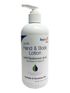 Hyalogic- Hand & Body Lotion w/ HA10 fl oz