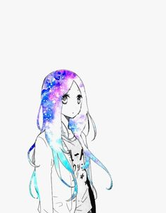 Find images and videos about anime, manga and anime girl on We Heart It - the app to get lost in what you love. Manga Girl, Anime Manga, Anime Art, Anime Girls, Anime Galaxy, Galaxy Art, The Legend Of Zelda, Hibi Chouchou, Otaku