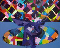 "Saatchi Art Artist: Raiber GoH; Acrylic 2015 Painting ""Akelarre"""