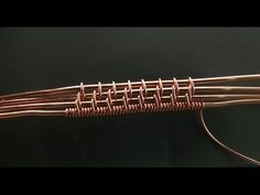 """""""Spikes"""" Weaving Pattern Tutorial, 4 Base Wires - YouTube"""