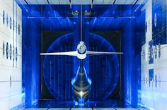 The incredible transonic, cryogenic, stainless steel wind tunnel.