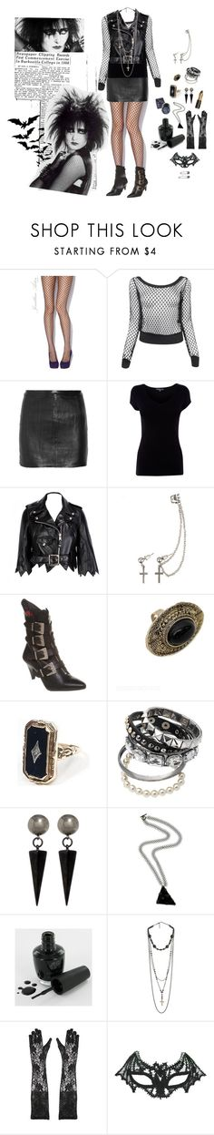 """""""Sioux"""" by silenthedge ❤ liked on Polyvore featuring Jonathan Aston, Forever 21, Zadig & Voltaire, Jeremy Scott, Club Manhattan, Cameo, Dorothy Perkins, Ben-Amun, Henriette Lofstrom and Manic Panic NYC"""