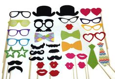 Graduation Photo Booth Props Class of 2014 by CraftingbyDenise