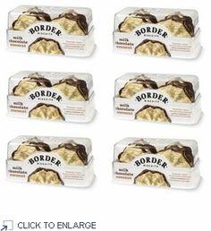 Border Biscuits Milk Chocolate Coconut 150g - 6 PACK www.shoplondons.c...
