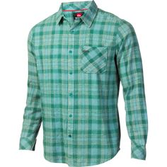 1ac26f2d4ab Quiksilver Rolling Semi Flannel Shirt - Long-Sleeve - Men s