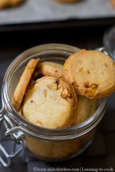 Eggless Pista Cookies   Eggless Pistachio Cookies   Eggless Cookies Recipes   Eggless shortbread cookies Pistachio Cookies, Shortbread Cookies, Yummy Cookies, Eggless Cookie Recipes, Eggless Baking, Easy To Make Cookies, Biscuit Recipe, Learn To Cook, Cakes And More