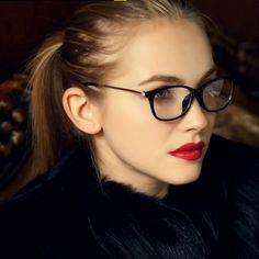 7a4a129252 ANEWISH Fashion Diamond Eyeglasses Frame Women Cat Retro Vintage Eyeglasses  Eyewear Glasse Frame Myopia oculos de grau-in Eyewear Frames from Women s  ...