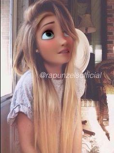 She's 15 and is in love with a boy named Jason. Emo Disney, Disney Now, Anna Disney, Disney Rapunzel, Disney Girls, Disney Magic, Disney Characters Dress Up, Modern Disney Characters, Disney Movies