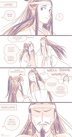 Read 💫 WangXian ( 19 ) 💫 from the story ♡ Mo Dao Zu Shi ♡ 魔道祖师 ♡ Comics - Fanarts ♡ by (🌹💫🐰) with reads. Anime Fanfiction, Chinese Cartoon, Handsome Anime Guys, China Art, The Grandmaster, Cute Gay, Fractal Art, Manhwa, Fan Art