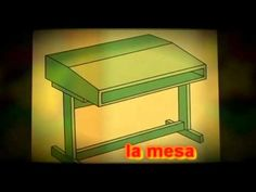 classroom objects in Spanish Spanish Teacher, Spanish Classroom, Classroom Ideas, Spanish Vocabulary, Vocabulary Activities, Spanish 1, Spanish Lessons, Middle School Spanish, Spanish Teaching Resources