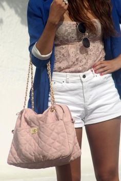 Miss summer.  i have this exact top, now i need to just pair it with cardigan and shorts!