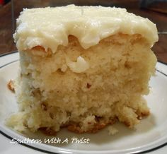 """Williamsburg Orange Cake from the blog """"Southern With a Twist""""  (http://lynn-southernwithatwist.blogspot.com/2014/01/williamsburg-orange-cake.html)"""