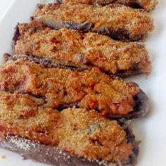 berenjenas al horno menorquinas receta familiar Nut Recipes, Veggie Recipes, Cooking Recipes, Healthy Recipes, Veggie Food, Deli Food, Good Food, Yummy Food, Kitchen Recipes