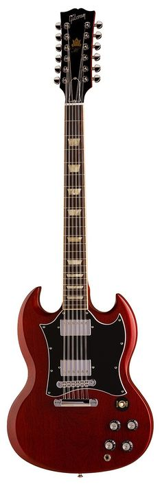 Gibson 50th Anniversary SG 12-String Electric Guitar - my first guitar was a 1968 SG (6 string). I would love to have a 12.